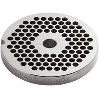 Avantco MG2245 #22 Stainless Steel Grinder Plate for MG22 Meat Grinder - 3/16 inch