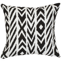 Astella TP18-FA41 Pacifica Fire Island Charcoal Accent Throw Pillow