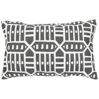 Astella TP12-FA54 Pacifica Roland Charcoal Lumbar Throw Pillow