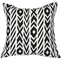 Astella TP24-FA41 Pacifica Fire Island Charcoal Lounge Throw Pillow
