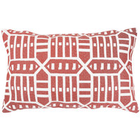 Astella TP12-FA55 Pacifica Roland Red Lumbar Throw Pillow