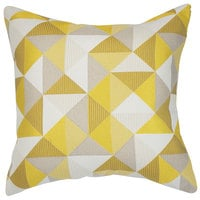 Astella TP18-FA13 Pacifica Ruskin Yellow Accent Throw Pillow