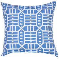 Astella TP18-FA53 Pacifica Roland Blue Accent Throw Pillow