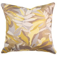 Astella TP18-FA24 Pacifica Dewey Yellow Accent Throw Pillow