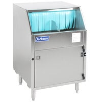 Jackson Delta 1200 Electric Carousel Type Underbar Glass Washer - 208/230V