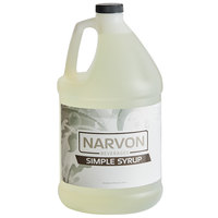 Narvon 1 Gallon Simple Syrup - 4/Case