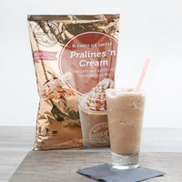Big Train 3.5 lb. Pralines 'N Cream Blended Creme Frappe Mix