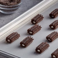 J & J Snacks 2 inch Creme Filled Mini Oreo Churro Bites with Sugar Crumb Topping - 200/Case