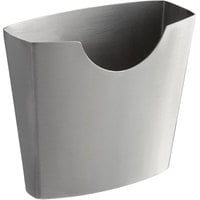 Vollrath 59758 6.4 oz. Stainless Steel Envelope Appetizer / French Fry Holder