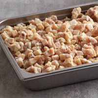 Brakebush Chik'N'Zips 5 lb. Bag 1/2 inch Diced Fully Cooked Chicken Breast and Thigh Meat - 2/Case