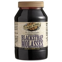 Golden Barrel 1 Qt. Sulfur-Free Blackstrap Molasses