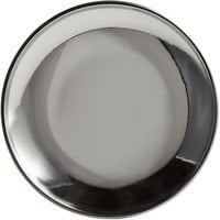World Tableware MD-1 4 1/2 inch Stainless Steel Micro Dish