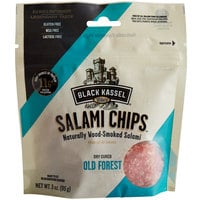 Piller's Black Kassel 3 oz. Old Forest Salami Chips - 16/Case