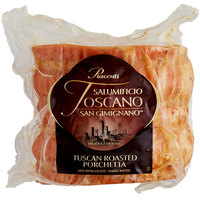 Piacenti 3.3 lb. Tuscan Roasted Porchetta - 4/Case