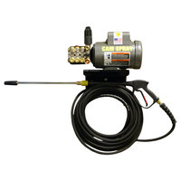 Cam Spray 2725EWM Wall Mount Electric Cold Water Pressure Washer with 50' Hose - 2700 PSI; 2.5 GPM
