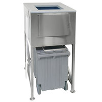 Scotsman ICS-2 Ice Express 2 Bay Ice Storage Bin - 1200 lb.