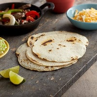 Mission 60-Pack 6 inch White Corn Tortillas - 12/Case