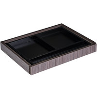 Boss N185-DW Driftwood 24 inch x 18 inch Laminate Center Drawer for Reception Desks