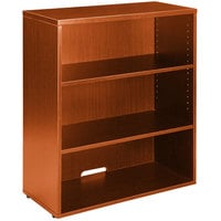 Boss N153-C Cherry Laminate 3-Shelf Hutch / Bookcase - 31 inch x 14 inch x 36 inch