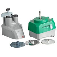 Avamix Revolution CFP342D Continuous Feed Commercial Food Processor with 2 Discs - 120V, 1 hp