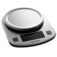 Taylor 3897 11 lb. Stainless Steel LED Display Digital Kitchen Scale