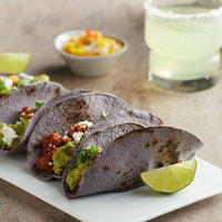 Mission 60-Pack 6 inch Blue Corn Tortillas - 12/Case