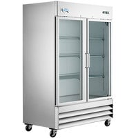 Avantco A-49R-G-HC 54 inch Glass Door Reach-In Refrigerator