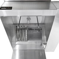 Halifax BRPHO1148 Type 1 11' x 48 inch Commercial Kitchen Hood with BRP Makeup Air (Hood Only)