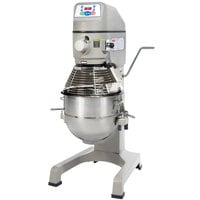 Globe SP30P Gear Driven 30 Qt. Commercial Planetary Floor Pizza Mixer - 220V, 1 1/2 hp