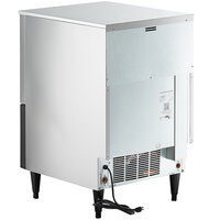 Hoshizaki KM-116BAJ 24 inch Air Cooled Undercounter Crescent Cube Ice Machine with 53 lb. Bin - 115V; 1 Phase; 125 lb.