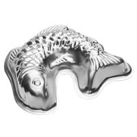 10 inch x 9 1/2 inch Tin-Plated Steel Fish Shaped Cake Pan