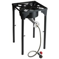 Backyard Pro Square Single Burner Outdoor Patio Stove / Outdoor Range with Adjustable Height - 110,000 BTU