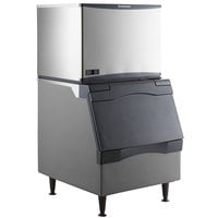 Scotsman C0330SW-1 Prodigy Plus Series 30 inch Water Cooled Small Cube Ice Machine and Ice Storage Bin - 420 lb.