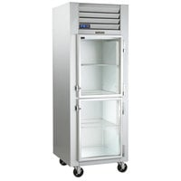 Traulsen G11000-032 30 inch G Series Glass Half Door Reach-In Refrigerator with Right Hinged Doors
