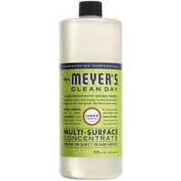Mrs. Meyer's Clean Day 663025 32 oz. Lemon Verbena All Purpose Multi-Surface Cleaner Concentrate - 6/Case