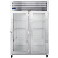 Traulsen G21012-032 52 inch G Series Glass Door Reach-In Refrigerator with Right / Right Hinged Doors