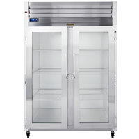 Traulsen G21010-032 52 inch G Series Glass Door Reach-In Refrigerator with Left / Right Hinged Doors