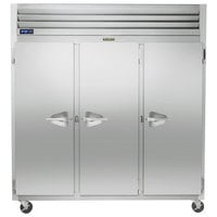 Traulsen G31010-032 76 1/4 inch G Series Solid Door Reach-In Freezer with Left / Right / Right Hinged Doors