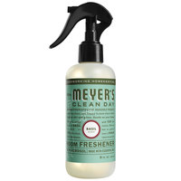 Mrs. Meyer's Clean Day 692720 8 oz. Basil Air Freshener Deodorizer Spray   - 6/Case