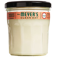 Mrs. Meyer's Clean Day 651388 7.2 oz. Geranium Scented Wax Candle - 6/Case