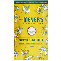 Mrs. Meyer's Clean Day 308117 Honeysuckle Deodorizing Scent Sachet - 18/Case