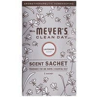 Mrs. Meyer's Clean Day 308115 Lavender Deodorizing Scent Sachet - 18/Case