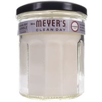 Mrs. Meyer's Clean Day 651386 7.2 oz. Lavender Scented Wax Candle - 6/Case