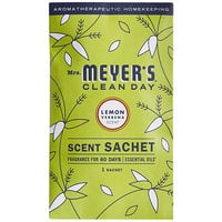 Mrs. Meyer's Clean Day 308114 Lemon Verbena Deodorizing Scent Sachet - 18/Case