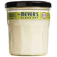 Mrs. Meyer's Clean Day 651387 7.2 oz. Lemon Verbena Scented Wax Candle - 6/Case