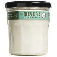 Mrs. Meyer's Clean Day 651389 7.2 oz. Basil Scented Wax Candle - 6/Case
