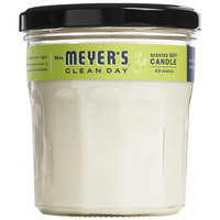 Mrs. Meyer's Clean Day 663158 4.9 oz. Lemon Verbena Scented Wax Candle - 6/Case