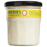 Mrs. Meyer's Clean Day 692032 4.9 oz. Honeysuckle Scented Wax Candle - 6/Case