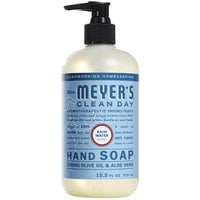 Mrs. Meyer's Clean Day 308451 12.5 oz. Rainwater Scented Hand Soap with Pump - 6/Case