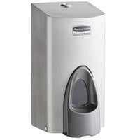 Rubbermaid 1853755 800 mL Stainless Steel Manual Foam Soap Dispenser